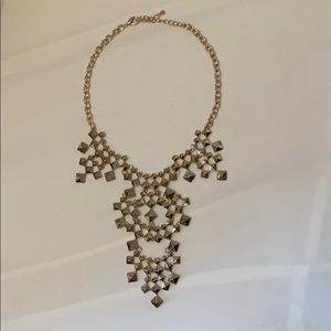 Gold drip necklace
